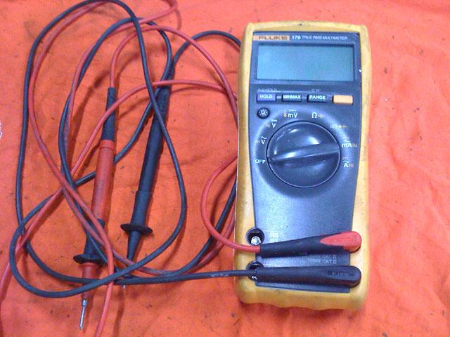 Fluke 179 true RMS meter