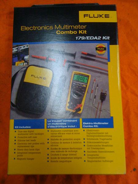 Fluke true RMS meter kit