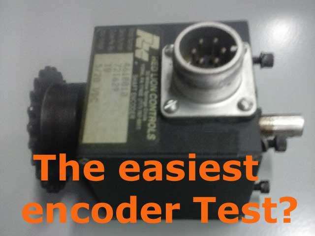 easiest encoder test