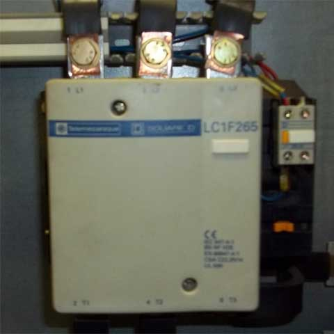 testing a 3 pole contactor