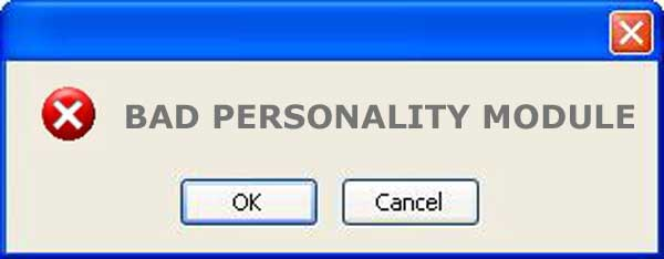 what is a bad personality module