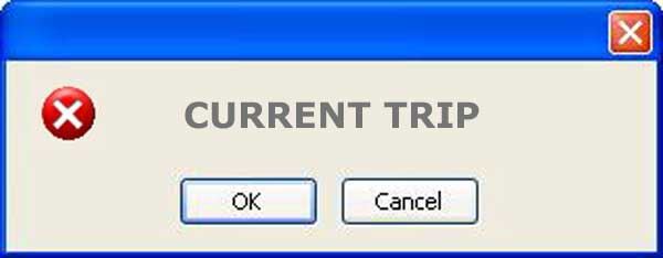 what is current trip alarm