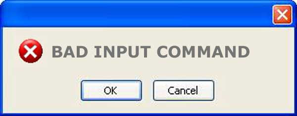 what is input command alarm