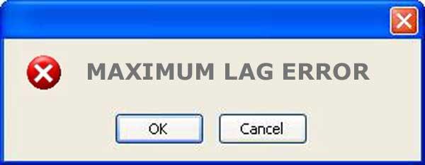 what is maximum lag error